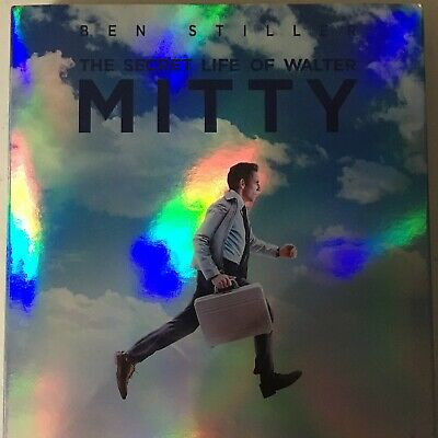 The Secret Life of Walter Mitty (DVD, 2014) With Slipcover Free Shipping