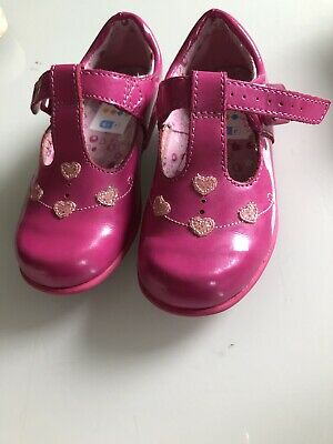 Clarks Toddler Girls Party Shoes Pink Size 6.5