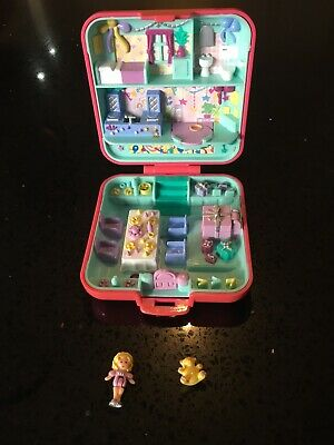 Polly Pocket Partytime Surprise 1989 with Figure And Bear