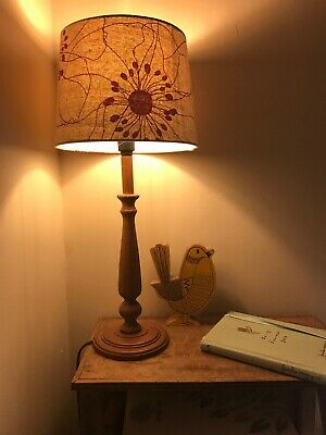 Vintage Retro Lamp With New Shade