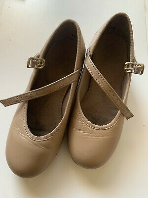 Girls Tap Shoes Tan USED FOR 2 TERMS