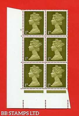 "SG. 724. U2 (2) . 1d yellowish olive A superb UNMOUNTED MINT "" cylinder 4 B47653"