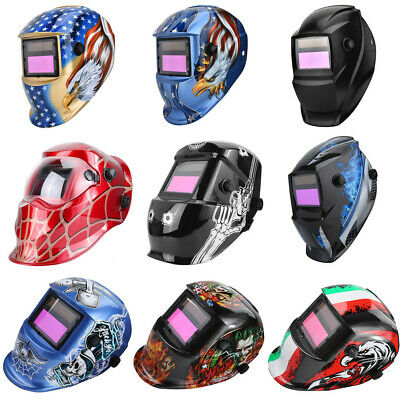 True Color Large View Pro Solar Power Welding Helmet Auto Darkening Welder Mask