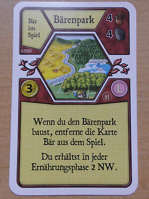 Lord of the Cards unbespielt Agricola L-Deck Promo Karte Neu L25