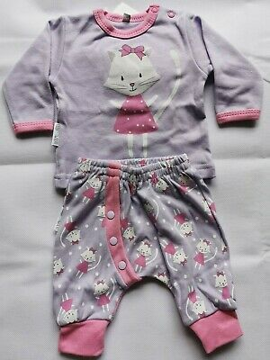 Sweets Baby Sweet Kitty Baby Girl Outfit Set 1 Mths 56Cm Bnwt Uk Seller Free P&P