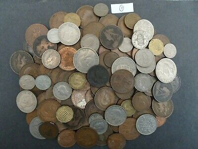 Large collection of old English coins from Early to QEII