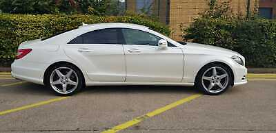 MERCEDES CLS 2013 (63) PEARL WHITE 2.1 CLS250 BlueEFFICIENCY AMG