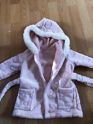 Baby Girls Dressing Gown Up To 3 Months From Tu
