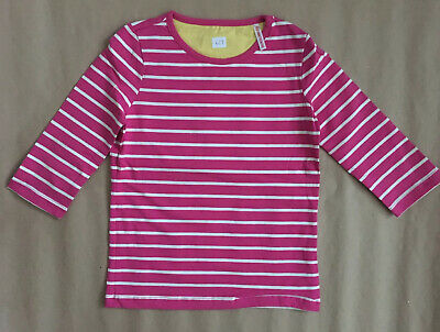 Joules Junior Girls Pink Milla Long Sleeved Top Aged 6 - 7 Years Brand New NWOT