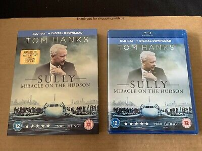 Sully Miracle on The Hudson BLU RAY NEW & SEALED With Slipcase Tom Hanks