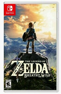 The Legend of Zelda: Breath of the Wild Nintendo Switch Brand New!