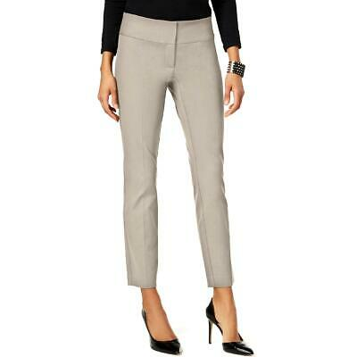 Alfani Womens Slim Straight Leg Tummy Control Dress Pants BHFO 4796