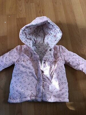 Baby Girls Jacket Age 3-6 Months From George