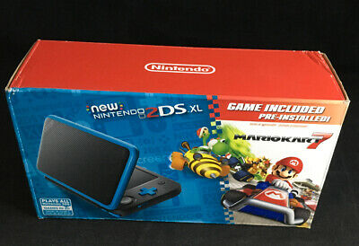 Nintendo 2DS XL - Black + Turquoise With Mario Kart 7 Pre-installed #4