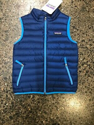 Patagonia Down Vest Jacket Unisex Kids Size 5 Brand New With Tags