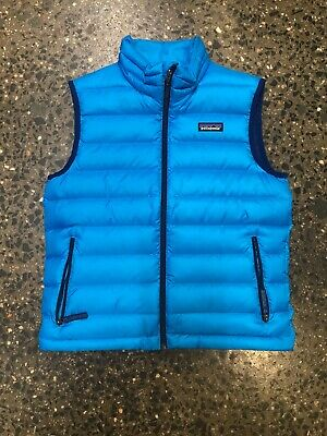 Patagonia Down Vest Jacket Yourh Size Medium 10 Brand New With Tags