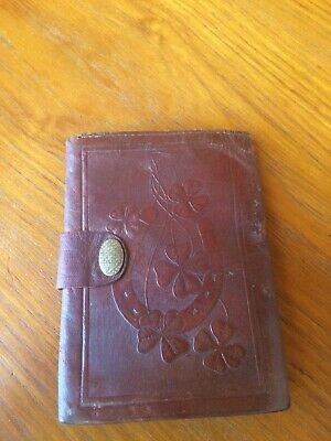 vintage retro leather purse wallet