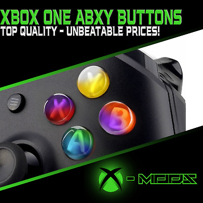 Xbox One S & X Controller ABXY Buttons - Replacement AXBY Mod Kit  All Colours!