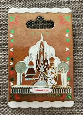 NEW Olaf Frozen Gingerbread Contemporary Resort Disney Pin WDW Holiday 2015 LE