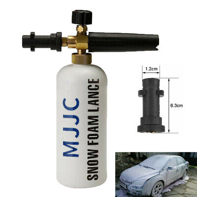 1L Adjustable Snow Foam Lance Cannon Washer Bottle Pressure Car Wash Gun K2-K7