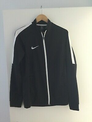 Mens / Youth Nike Black/White Dri-Fit Jacket Size S