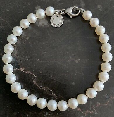 Tiffany & Co Pearl and Sterling Silver Bracelet
