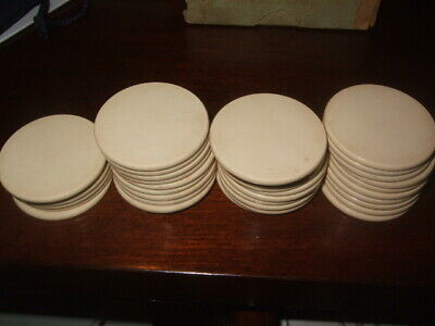 Lot Of Vintage 1920's Clay Poker Chips - 184 Chips