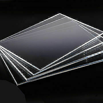Clear Acrylic Perspex Sheet Custom Cut To Size Panels Plastic Panel Bespoke Size