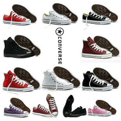 Classic  Chuck Taylor Low Tops Trainer Sneaker All Stars OX NEW Sizes Shoes & AU