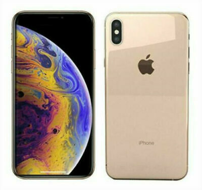 Apple iPhone XS MAX 64|256GB - Unlocked SIM Free Smartphone IOS 4G - All Colors