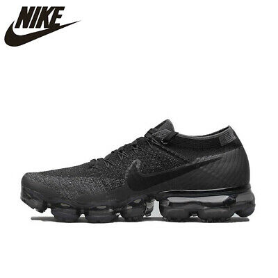 Men 100% Genuine Air VaporMax Flyknit Running Shoes Authentic For Men 849558 007