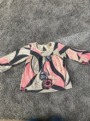 Ted Baker Girls Long Sleeve Top Blouse Size 12 Months Baby Baker