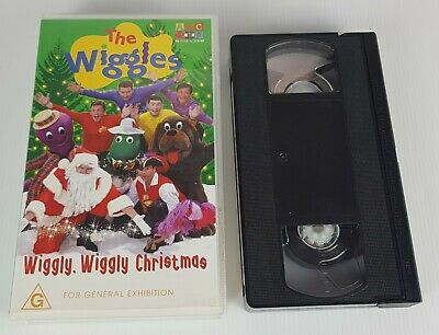 The Original Wiggles Wiggly Wiggly Christmas ABC Kids VHS PAL Video Tape 1999