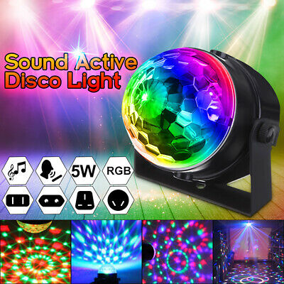 LED RGB Magic Ball Projector Disco Lamp DJ KTV Bar Party Stage  Xmas  1