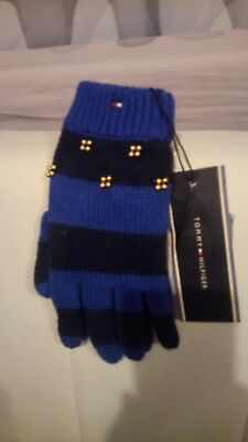 Tommy Hilfiger Girls mittens Size S/M 7-8 Years
