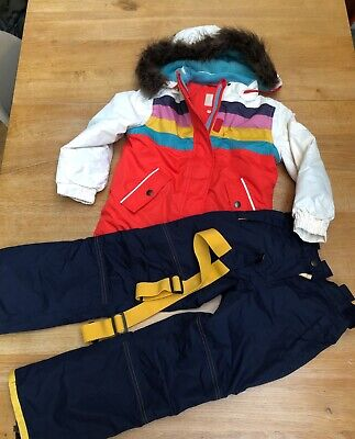 Boded Girls Ski Outfit Age 6-7