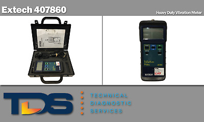 [USED] Extech 407860 Heavy Duty Vibration Meter + NIST Traceable Calibration