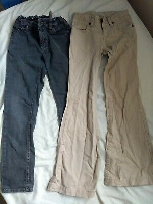 Girls Trousers X 2 bundle, Tommy Hilfiger Jeans and Gap Troursers, Age 8