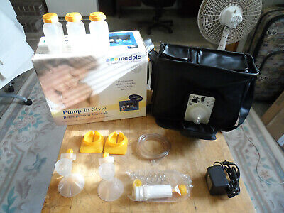 Modela Pump In Style Dual Breast Pump And Carry All With Manuals