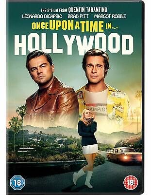 Once Upon A Time Hollywood - Quentin Tarantino 2019 [DVD] Sent Sameday*