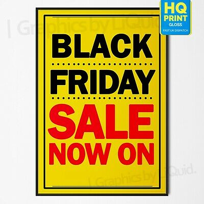 Black Friday Christmas Super Sale Now On Sign Business Poster #2 | A4 A3 A2 A1 |