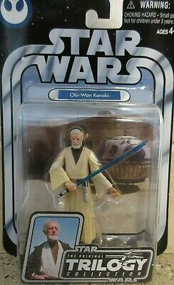 "2004 Star Wars Obi-Wan Kenobi 3.75"" Trilogy Collection NIP *** NR ***"