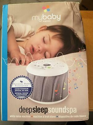MyBaby, Deep Sleep SoundSpa White Noise Machine Sealed Box  Damage