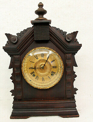 Antique Table Clock Mantel Clock*Ansonia Clock U.S.A. New York
