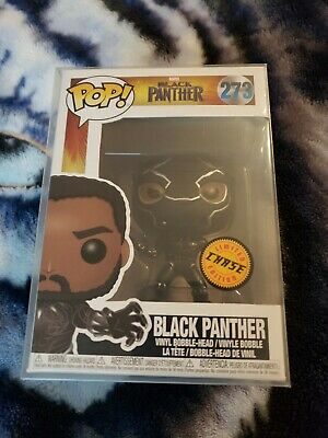 Funko POP! Marvel: Black Panther - Black Panther #273   CHASE