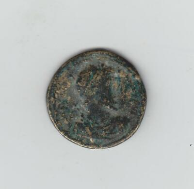 Large Unidentified Ancient Roman Bronze Coin, 28mm Diam, Undecided If Genuine