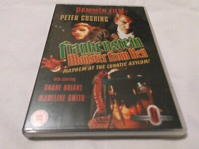 Frankenstein and the Monster From Hell - UK Region 2 DVD