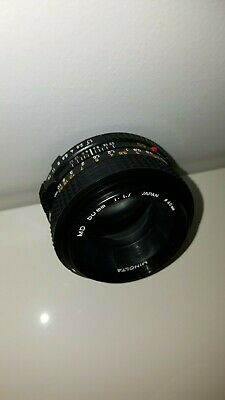 Minolta 50Mm F/1.7 Md Mount Prime Lens