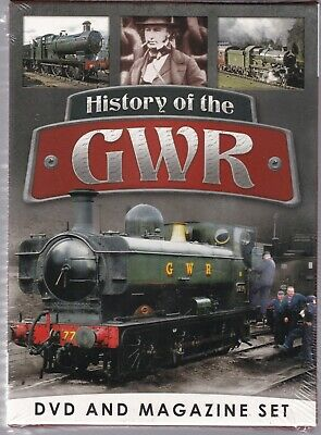 Great Western Railway (Gwr) Book & Dvd New & Sealed Ideal Gift