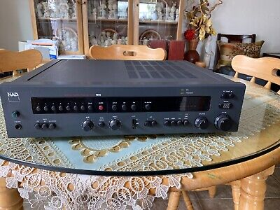 NAD 1600 Monitor Series Preamplifier Tuner TESTED Works great! OLD SCHOOL NAD
